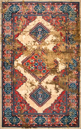 Rugs USA Overdyed Tribal Diamond GZ12
