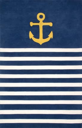 Rugs USA TP05 Hand Tufted Naval Stripes