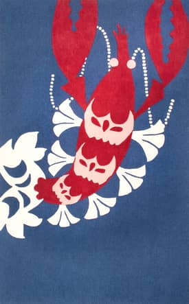 Rugs USA TP06 Hand Tufted Lobster