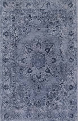Rugs USA CC01 Hand Tufted Wool Rosette Medallion Floral Border