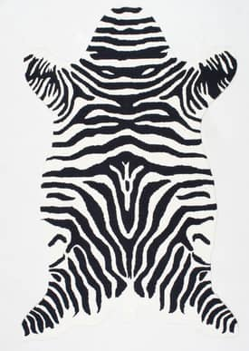 Rugs USA HM01 Shaped Zebra