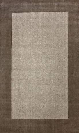 Rugs USA Woven Solid Border