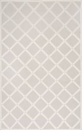 Rugs USA VS173 Knotched Lattice Trellis
