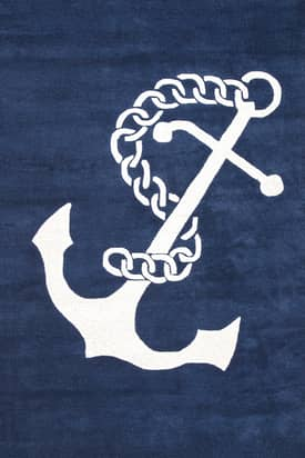 Rugs USA Nautical Anchor
