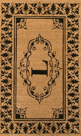 Rugs USA Monogrammed Outdoor Welcome Door Mat