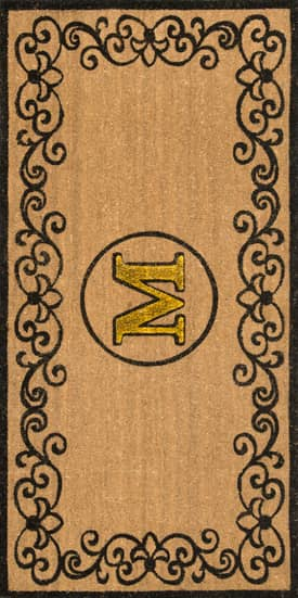 Rugs USA Monogrammed Outdoor Door Mat