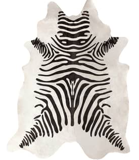 Rugs USA Zebra Cowhide