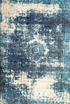Rugs USA TC01 Distressed Foggy Medallion