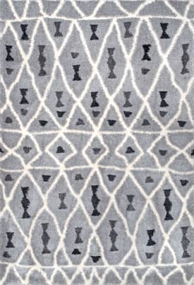 Rugs USA NB03 Notched Moroccan Diamonds