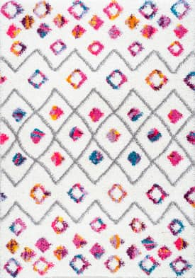 Rugs USA XL04 Bohemian Diamond Trellis Shag