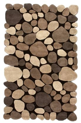 Rugs USA Contemporary Handmade Wool Pebbles Cobblestone