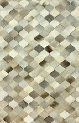 Rugs USA Cowhide Moroccan Trellis