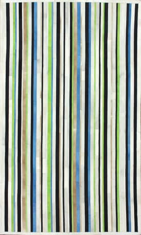 Rugs USA Striped Cowhide LUM29