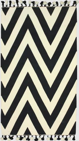 Rugs USA Cotton Chevron Flatwoven