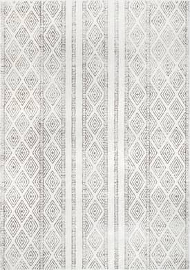 Rugs USA BD40 Banded Bird Eye Diamonds