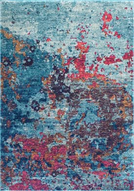Rugs USA Abstract Splatter Seascape BD45