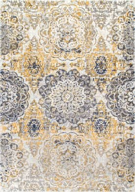 Rugs USA Faded Rosette Bouquet
