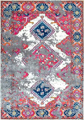 Rugs USA BD58 Tarnished Triple Diamond Medallion