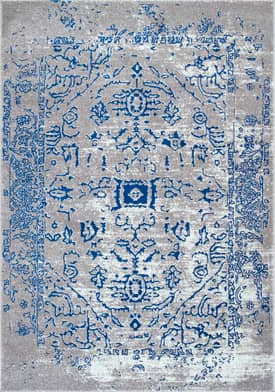 Rugs USA BD62 Faded Tribal Cartouche Medallion