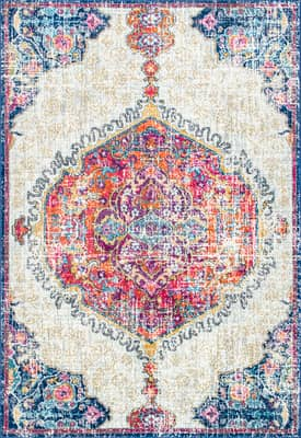Rugs USA BD63 Frilly Corinthian Medallion