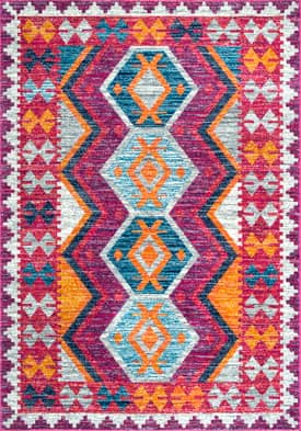 Rugs USA BD69 Tribal Hex Eye Emblem