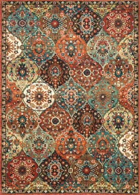 Rugs USA IN02 Oriental Ogee Trellis