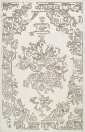 Rugs USA CA02 Hand Tufted Wool Bordered Medallion