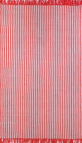 Rugs USA Striped Reversible Flatwoven CN01