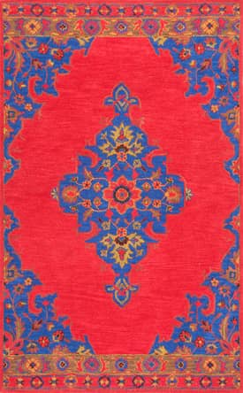 Rugs USA RE40 Hand Tufted Wool Persian Medallion