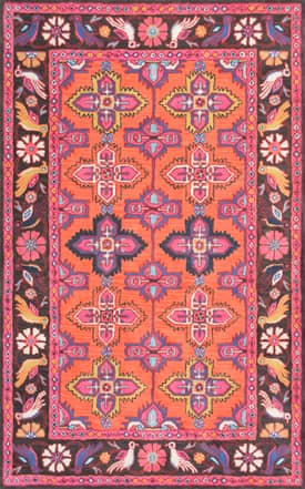 Rugs USA RE41 Hand Tufted Wool Aviary Garden