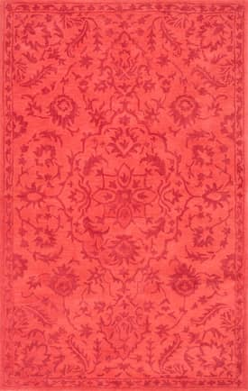 Rugs USA SL05 Hand Tufted Wool Allover Floral Medallion
