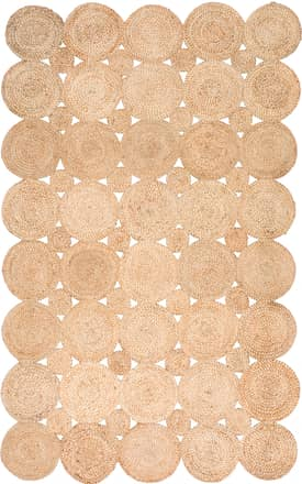Rugs USA Jute Decorative Circles JT06