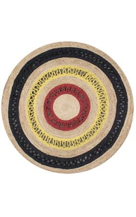 Rugs USA Jute Decorative Round JT08