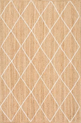 Rugs USA JT15 Jute Braided Trellis