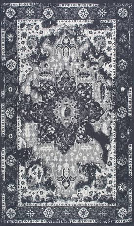 Rugs USA KU01 Flatweave Cotton Ornamental Floral Medallion