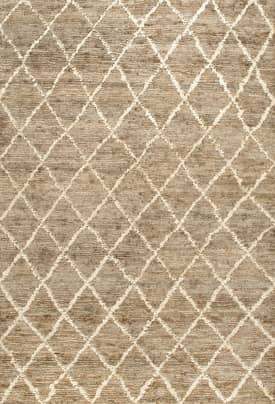 Rugs USA Diamond Trellis Jute CW01