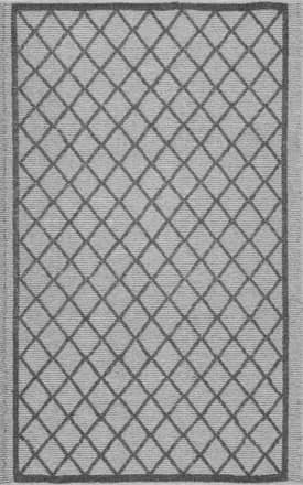 Rugs USA CY01 Flatweave Raised Trellis Outdoor