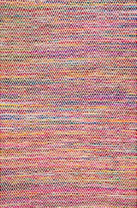 Rugs USA AG01 Hand Woven Candy Striped Chevron