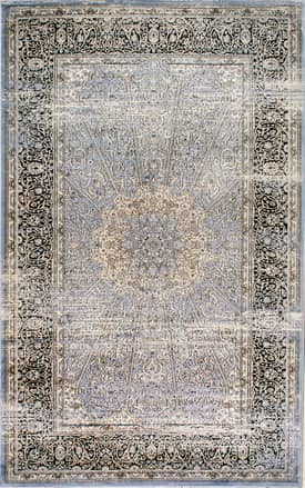 Rugs USA MM07 Floral Mosaic Medallion