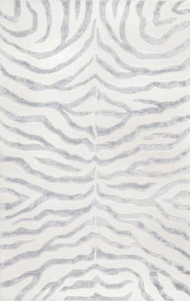Rugs USA Contemporary Zebra Print with Faux Silk Highlights