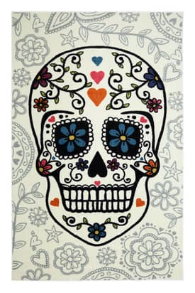 Mohawk Home Sugar Skull