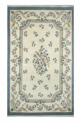 The American Home Rug Company Floral Aubusson