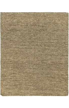 E Carpet Gallery Natural Flatweave Brown Rug 4' x 5'