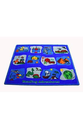 Kids World Carpets Reading Adventures