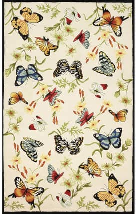828 Accents Butterflies Rug