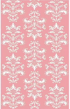 The Rug Market Kids Mini Damask Rug