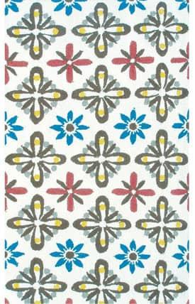 The Rug Market NA Daisy Tile Rug