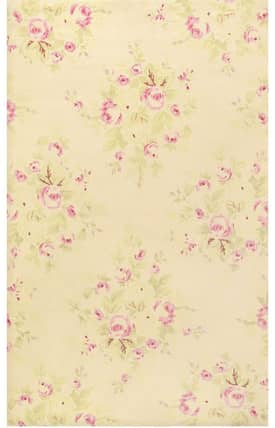 The Rug Market 5 Chic Romantique French Rose Bouquet Rug