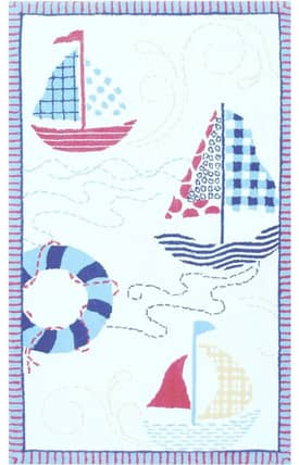 The Rug Market Kids Sailing! Rug