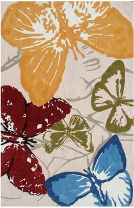 The Rug Market NA Monarch Butterflies Rug